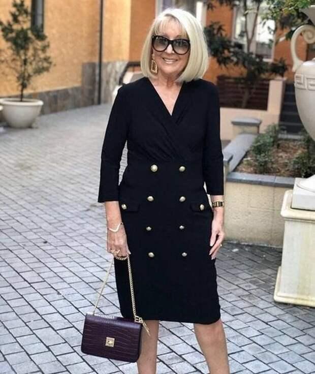 Женственные образы для женщин 60+. Отбросьте заботы у вас всё впереди