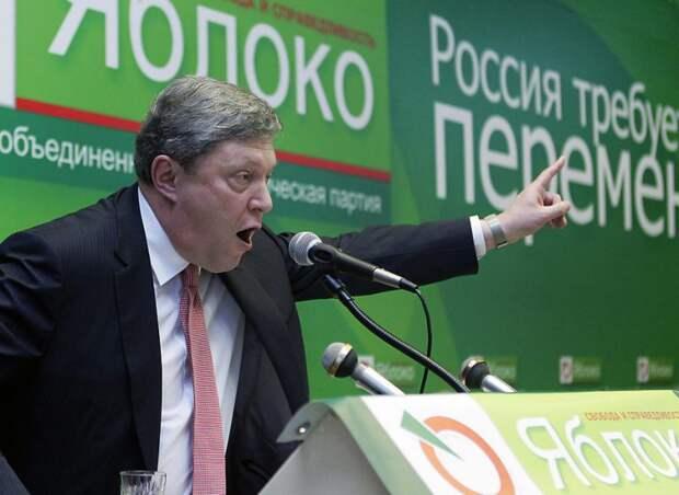 Основатель партии «Яблоко» Григорий Явлинский не считает Крым территорией России. Об этом он заявил...