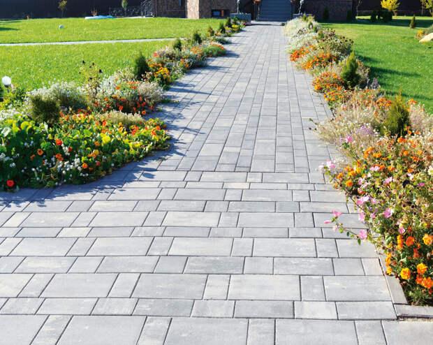 Как выбрать тротуарную плитку/часть 1 - цвет плитки