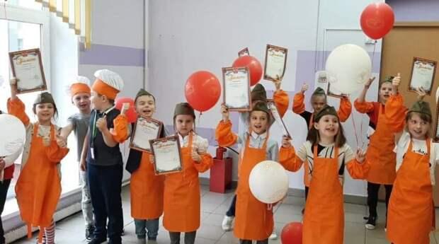 Мастер-класс для детей: кулинарный десерт в честь Дня Победы