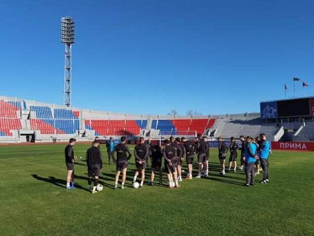 Футболисты «Енисея» завершат сезон домашним матчем с «Иртышом»