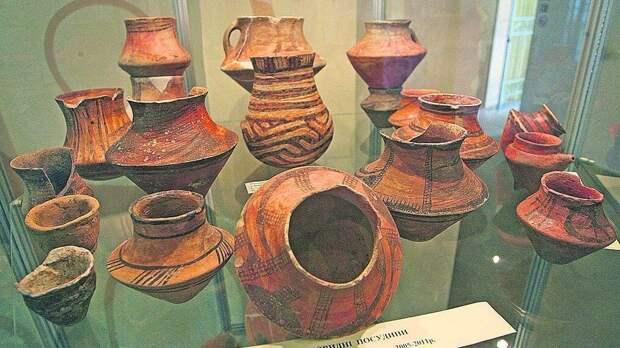 Керамика Триполья (Украина) (Иллюстрация из открытых источников)
