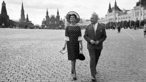 Иностранные звёзды, посетившие Советский Союз