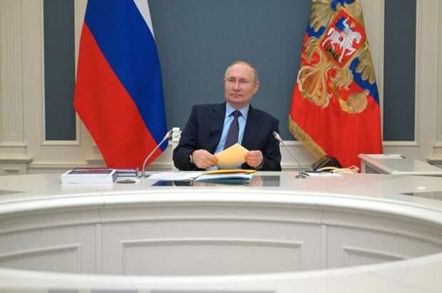 Путин выступит на климатическом саммите 22 апреля