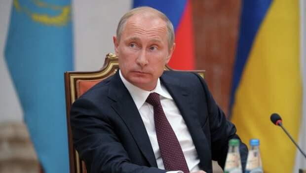 Путин призвал Запад уважительно относиться к ответным экономическим мерам России