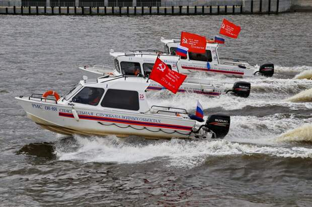 И дольше века: службе спасания на водах Москвы исполнилось 146 лет