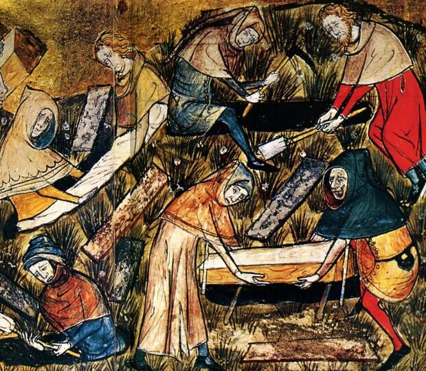 Кровавый навет во время чумы