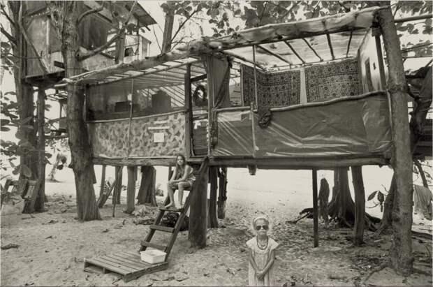Лагерь хиппи Тейлор Камп— утопическое место без забот, зла иодежды