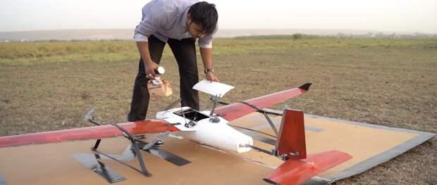 Vodafone Idea готовится к испытаниям дронов с управлением через сеть LTE