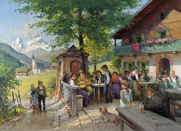 Детлев Ничке (Detlev Nitschke) - немецкий художник