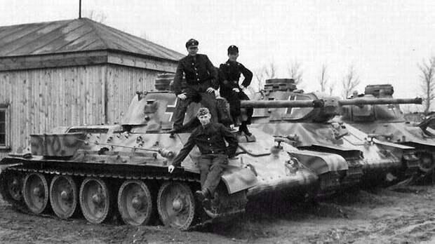 Что делали немцы с лучшим советским танком