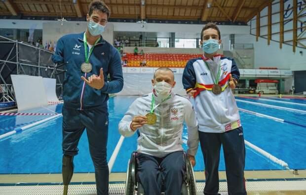 Севастополец победил в чемпионате Европы по паралимпийскому плаванию