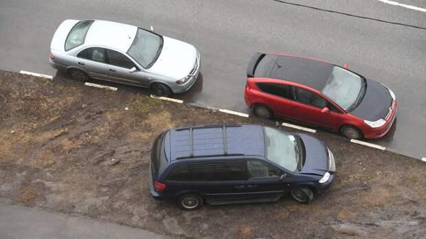 Смольный уточнил понятие «газон», чтобы чаще штрафовать водителей за парковку