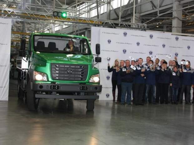 ГАЗ запустил производство новой модели «ГАЗон NEXT»