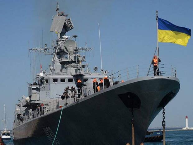 Флот Украины обвинил ФСБ РФ в создании препятствий в Азовском море