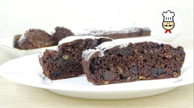 Фото к рецепту: Пирог из 2-х ложек муки