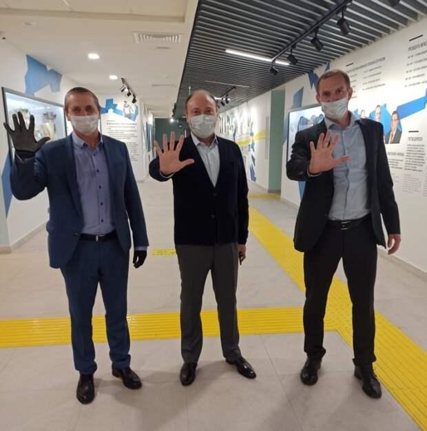 Вячеслав Аминов и Алексей Беляев посетили Музей пятиборья в «Северном»