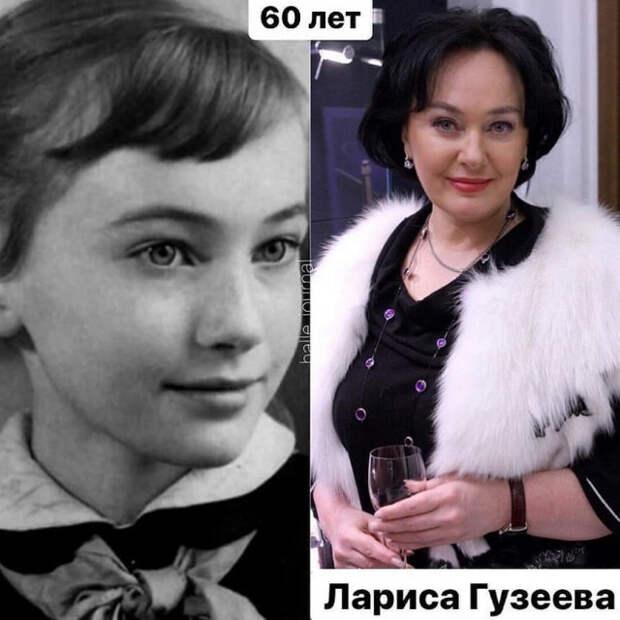 Актрисы российского кино в детстве и сейчас