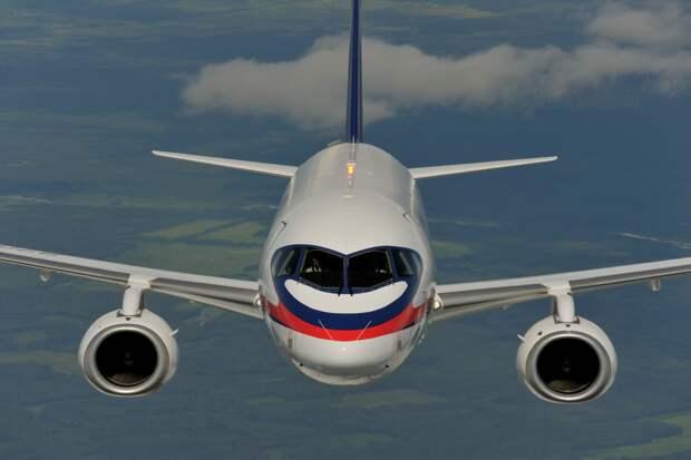 Самолеты SSJ 100 в 2020 году получат четыре российские авиакомпании
