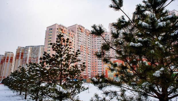 Дождь с мокрым снегом ожидается в Подольске в четверг