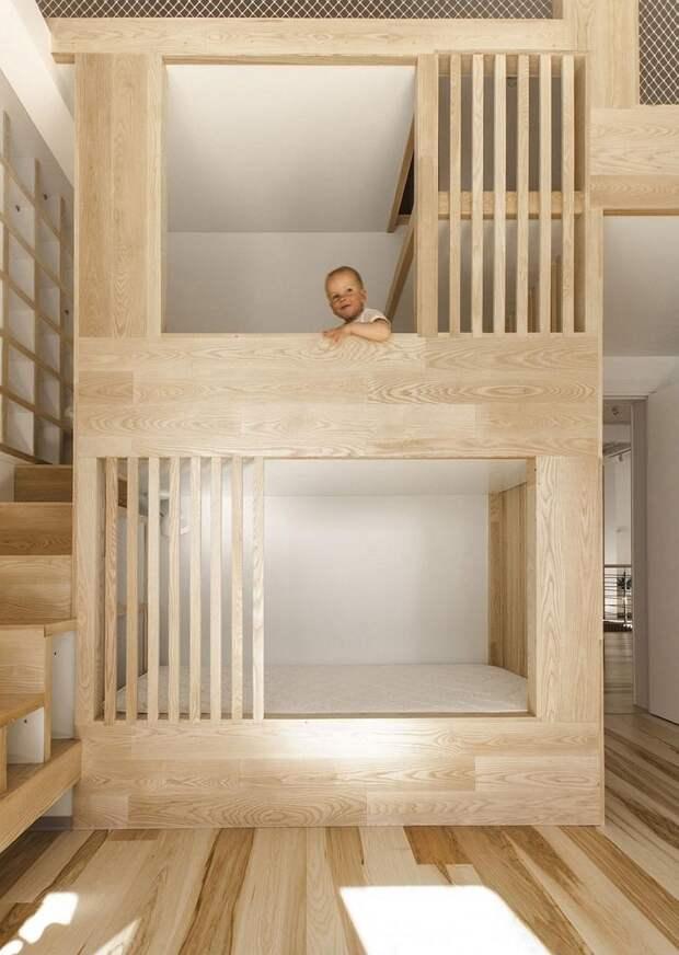 А вы знаете, какой должна быть детская мебель из массива дерева? (57 фото)