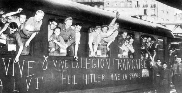 Французские легионеры едут в СССР