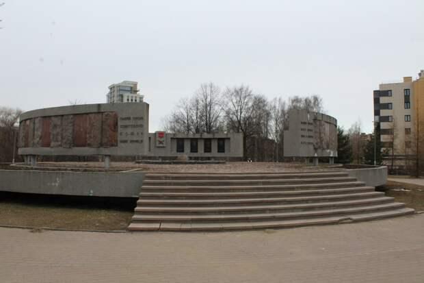 Галерею Героев планирует отреставрировать и украсить подсветкой