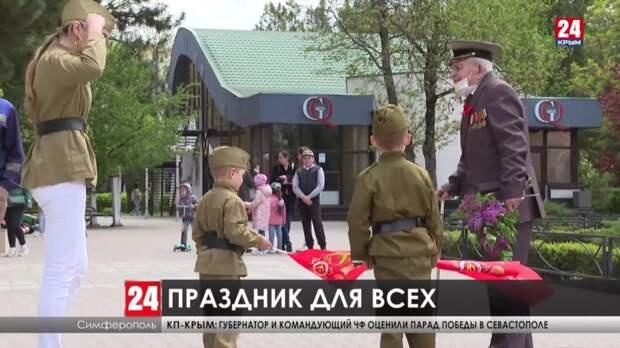 В парке имени Юрия Гагарина прошла выставка военной техники и стрелкового оружия