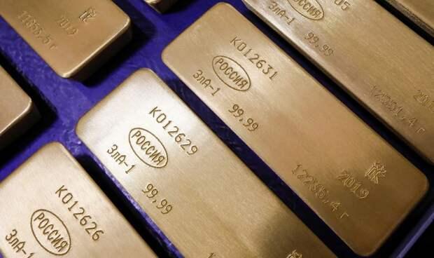 Минфин РФ предложил вкладывать средства ФНБ в золото