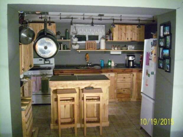 Палетная кухня
