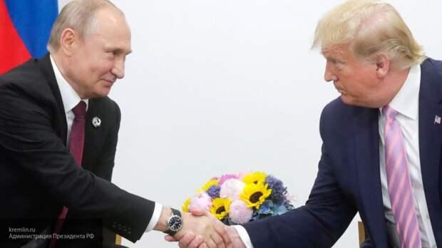 Критика хороших отношений Трампа и Путина вызвала у лидера США недоумение