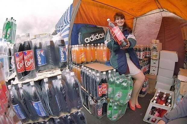 Простая зарисовка из жизни России 1990–х. Россия, 90-е, coca-cola, артефакт, adidas