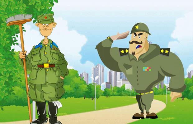Армейские истории… Рационализаторские предложения для быстрого отпуска