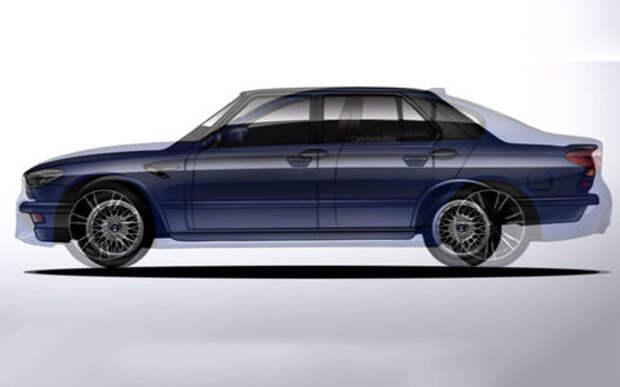 Эволюция BMW M5 за 4 минуты видео