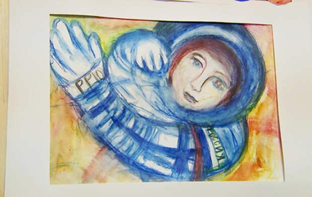 В Южном Чертанове открылась выставка, посвященная полету Гагарина