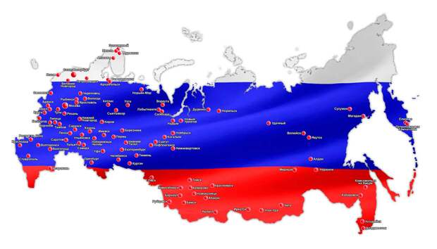 URA.RU: Число субъектов РФ сократится в два раза