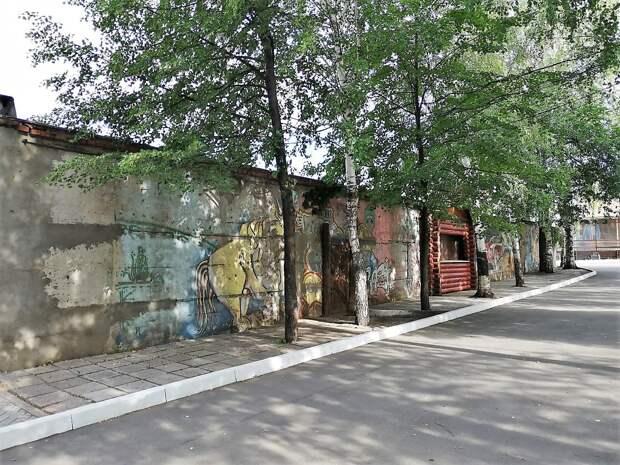В Ижевске ищут художников для росписи стен в Летнем саду
