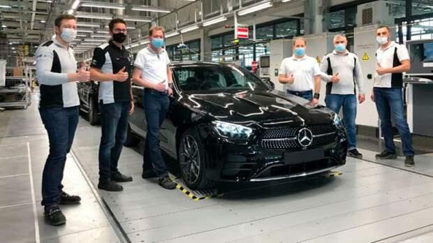 Новый Mercedes-Benz E-класса стали производить в России