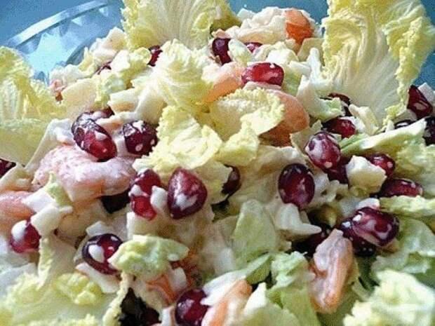6 вкусных и нежных салатов с пекинской капустой