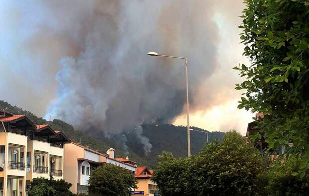 Пожары в Турции: последствия и последние новости