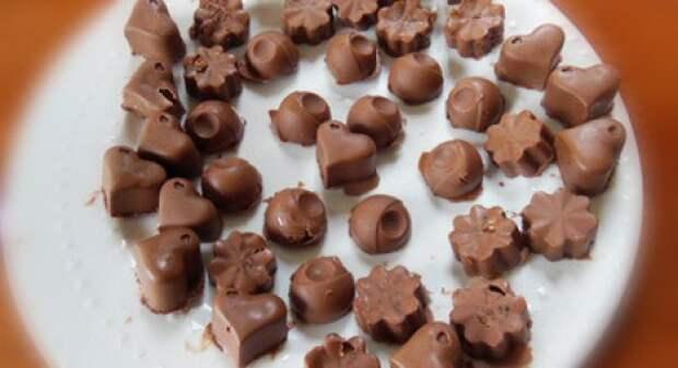 Самодельные полезные конфеты
