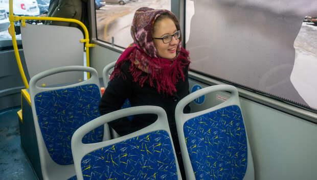 В подмосковных автобусах в честь 8 Марта откроют салоны красоты
