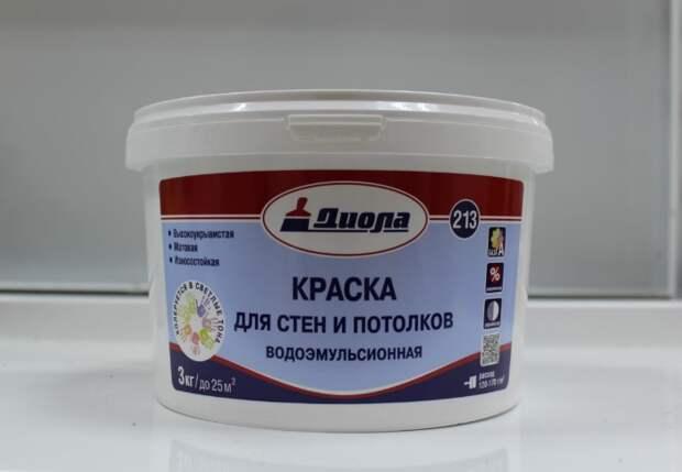 Водоэмульсионная краска поможет перекрыть серьезные повреждения швов / Фото: sdelai-lestnicu.ru