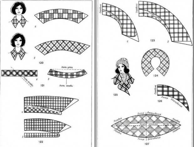 Особенности кроя ткани в клетку