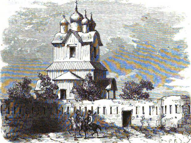 Церковь в Боргустанской