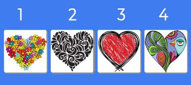 Выберите сердечко и узнайте, как улучшить ваши отношения с партнером
