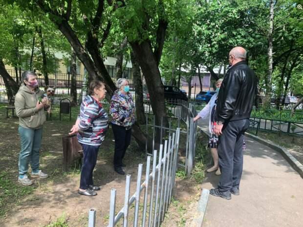 В Марьиной роще проведут обследование аварийных деревьев