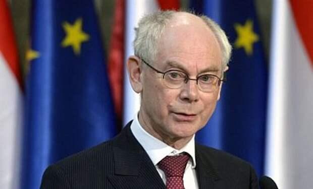 ЕС должен продолжить давление на Путина - Кэмерон и Ромпей