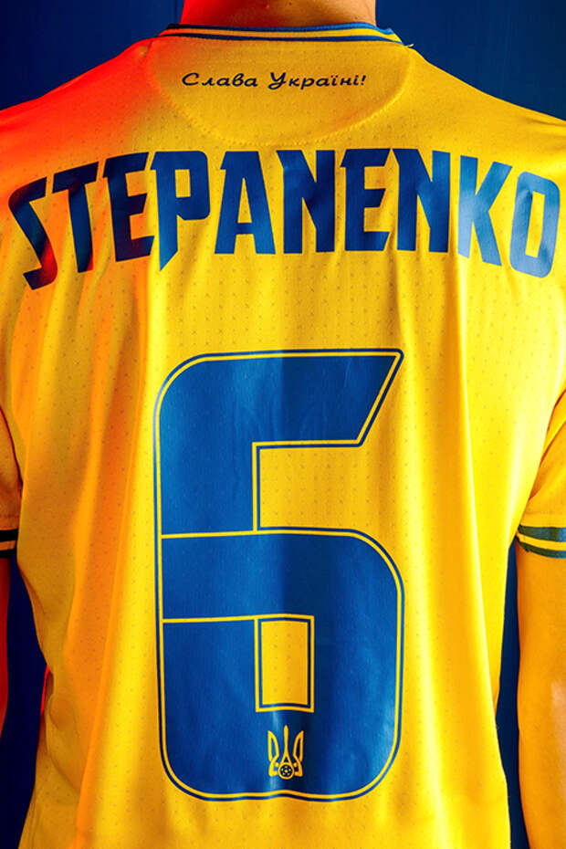 """На фото: """"национальная сборная Украины будет выступать на Евро-2020 в новой - особой форме"""""""