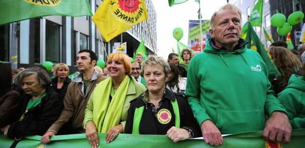 Прогноз: Немецкие «Зеленые» пожертвуют антироссийской повесткой